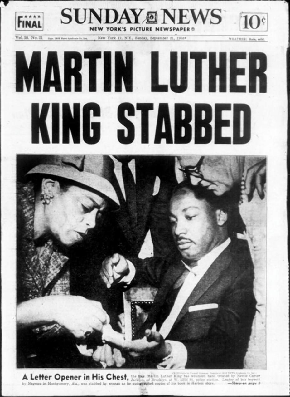 Izola Curry Stabs Martin Luther King Jr