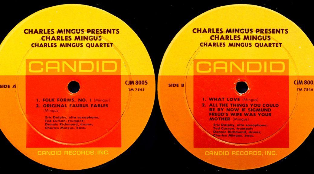 1959 Charles Mingus Fables Faubus