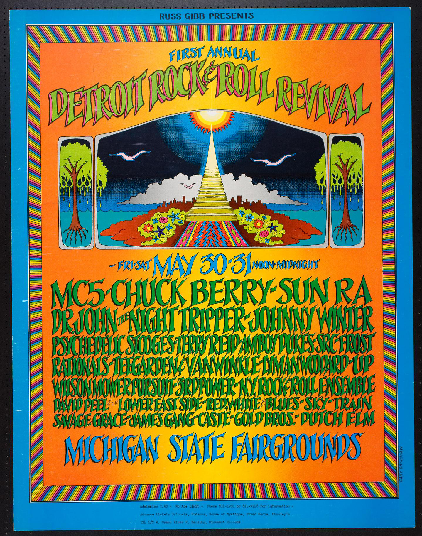 detroit rock festival