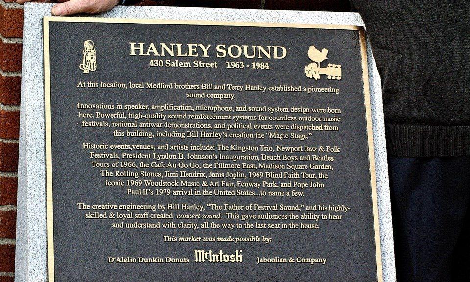 Bill Hanley Soundman Extraordinaire