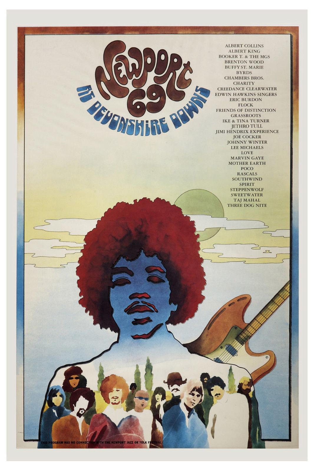 Thirty-nine 1969 Festivals