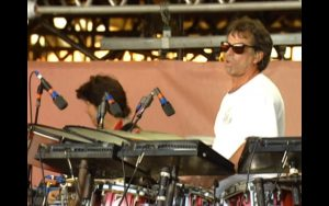 Grateful Dead drummer Mickey Hart