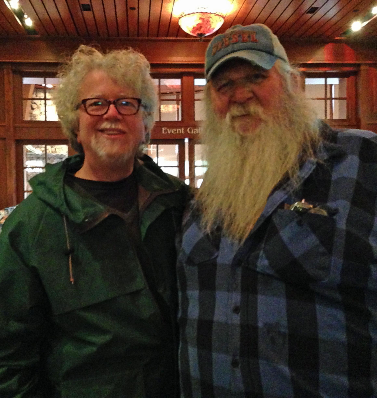 2015-10-03 Bethel Woods (1) Jim & Duke