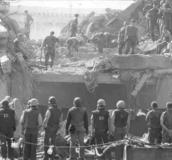 MarineBarracksBeirut_23October1983