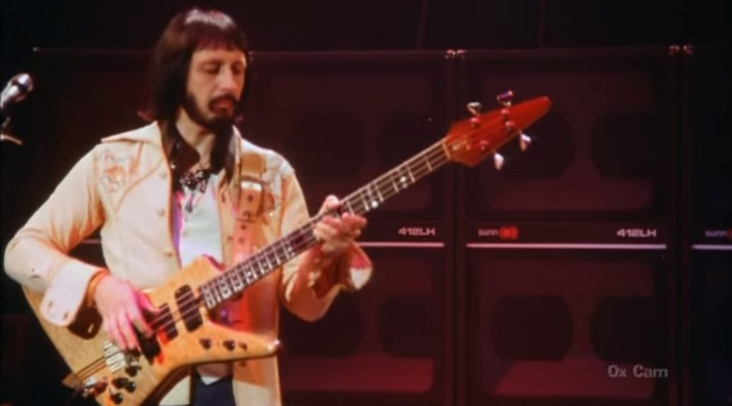 Who Bassist John Alec Entwistle