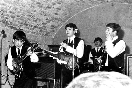 Beatles in the Cavern Club