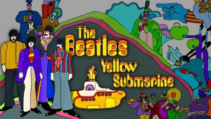 Beatles Yellow Submarine album