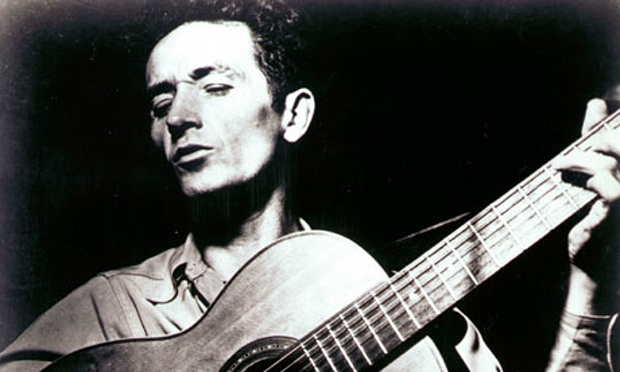 Dylan Visits Woody Guthrie