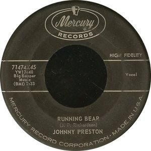 Johnny Preston Running Bear