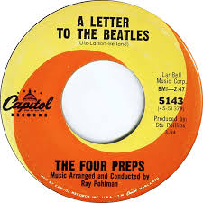 Four Preps Write Beatles