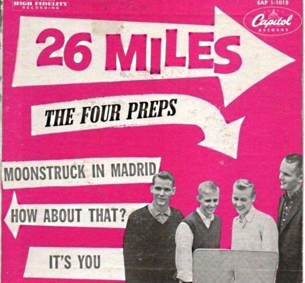 Four Preps Write Beatles