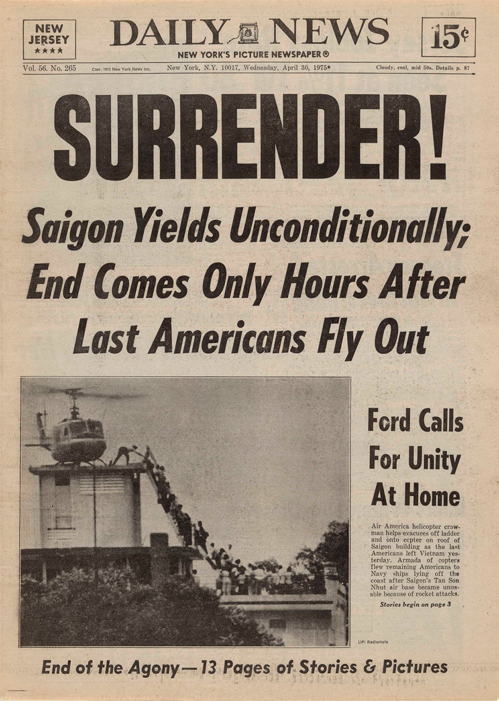 Image result for the capital of saigon falls in 1975