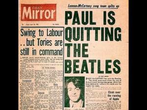 John Paul George Ringo Breakup