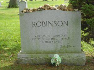 Activist Jackie Robinson