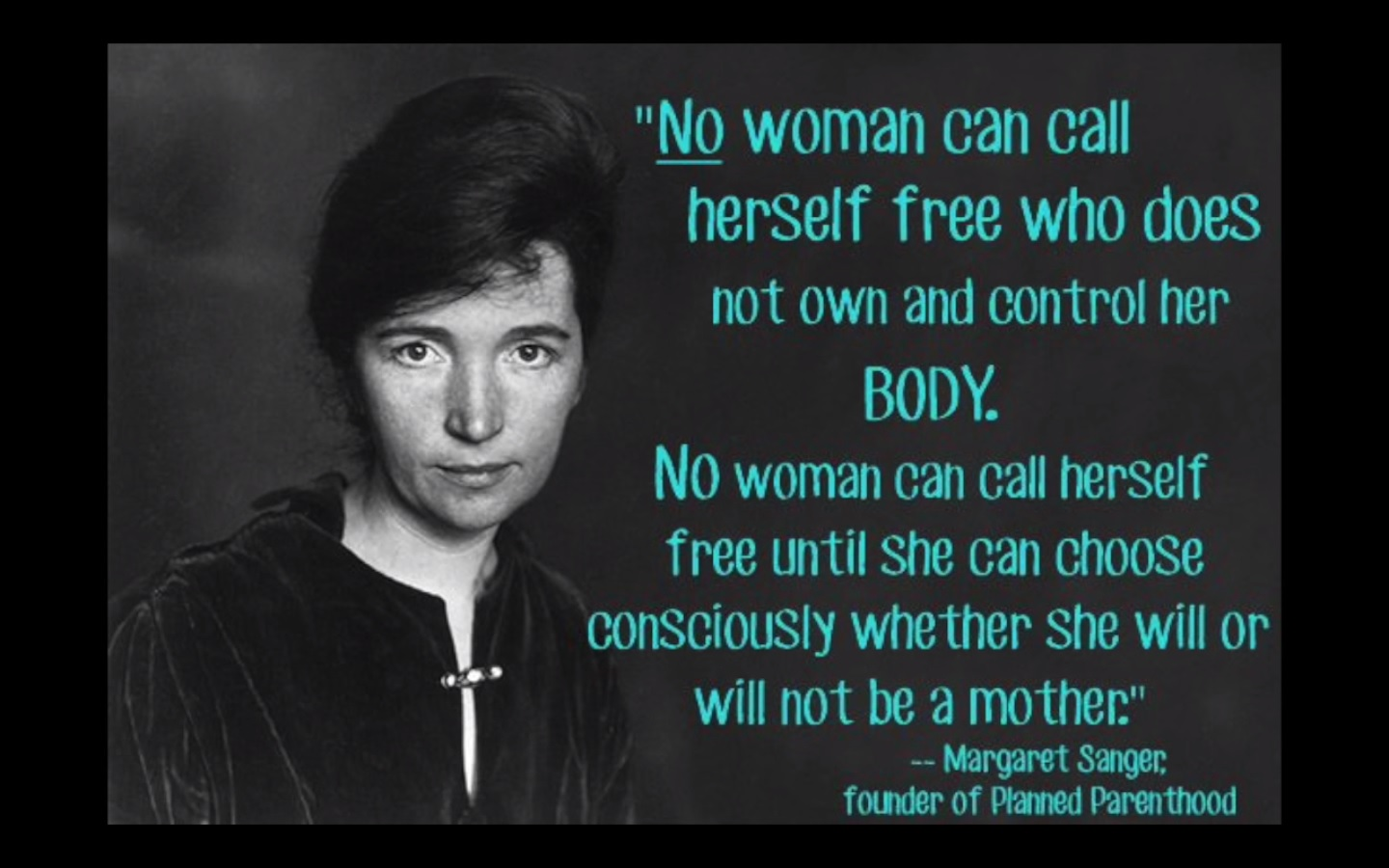 Margaret Sanger Birth Control