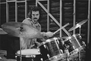 Drummer William Bill Kreutzmann