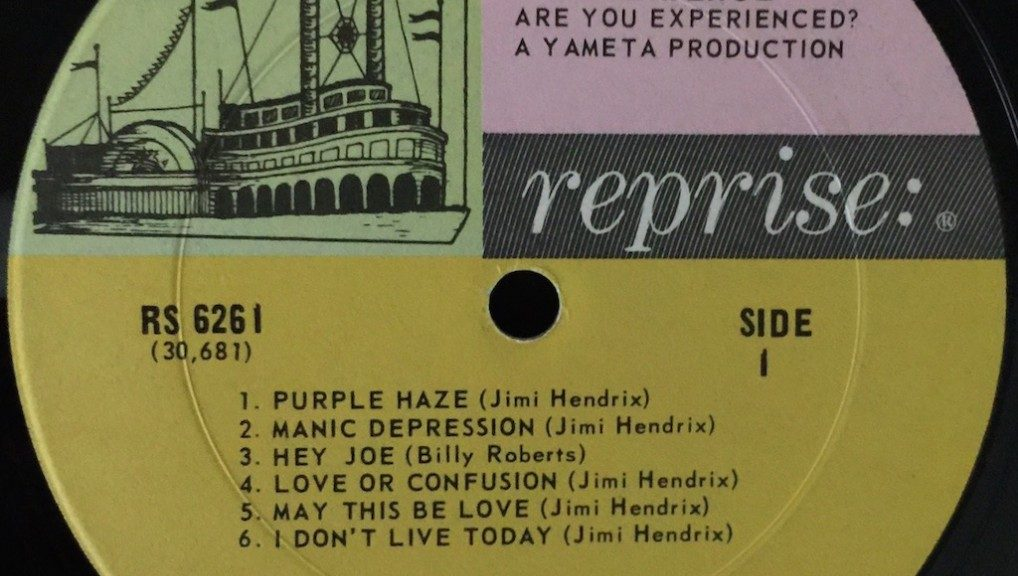 Reprise Signs Jimi Hendrix