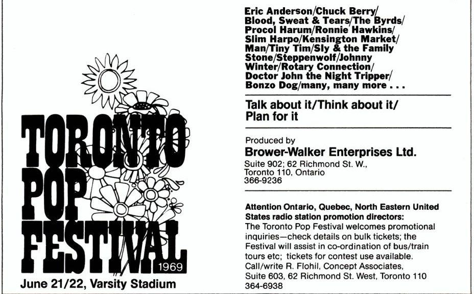 Toronto Pop Festival 69
