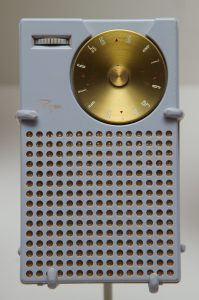 Bell Demonstrates Transistor Radio