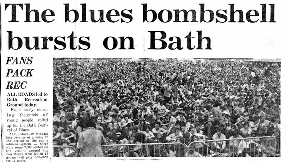 UK Bath Festival Blues