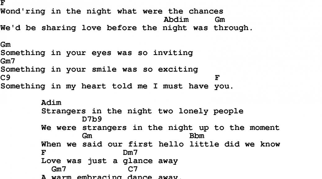 Strangers In The Night The Woodstock Whispererjim Shelley