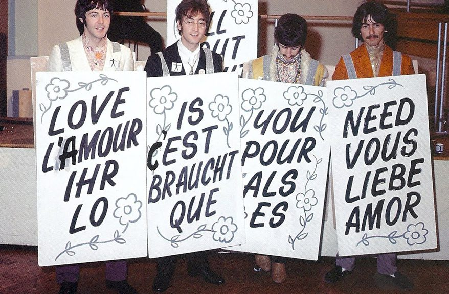 Beatles Love All Our World