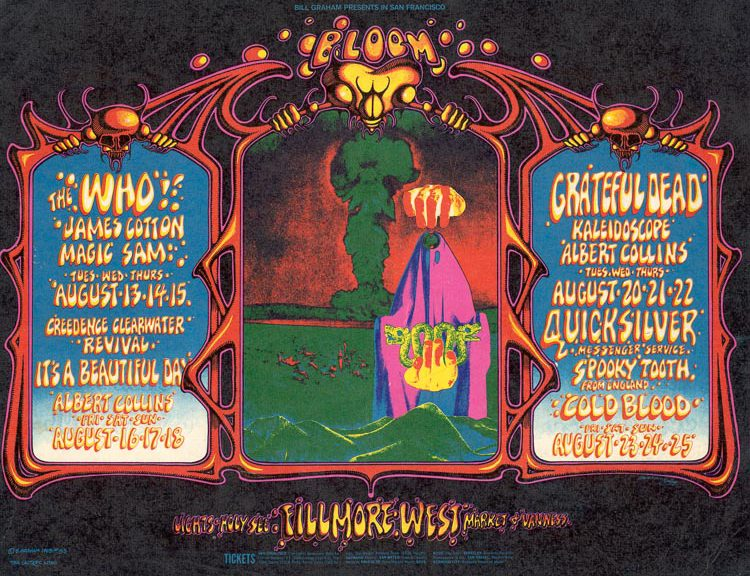 Bill Graham Opens Fillmore West