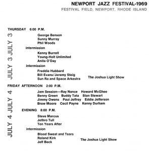 1969 Newport Jazz Festival