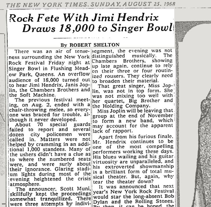 1969 Forest Hills Music Festival