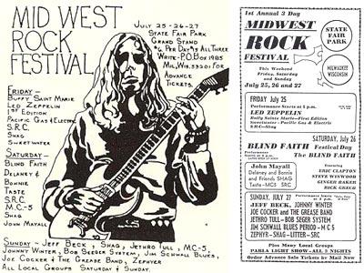 1969 Midwest Rock Festival