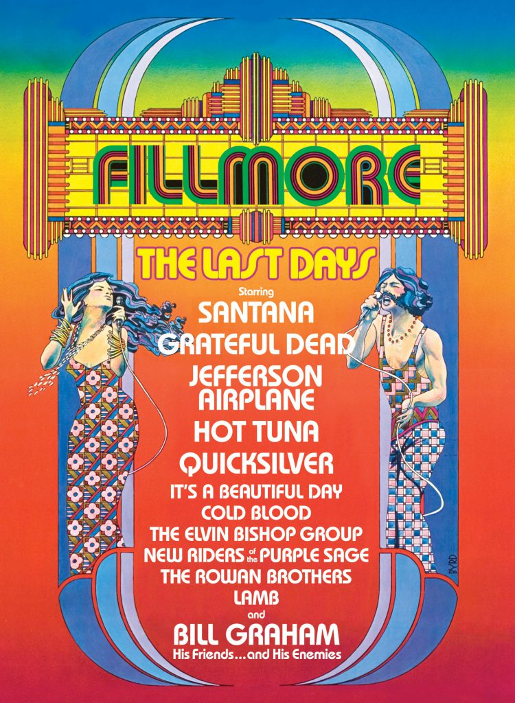 Fillmore West Closes