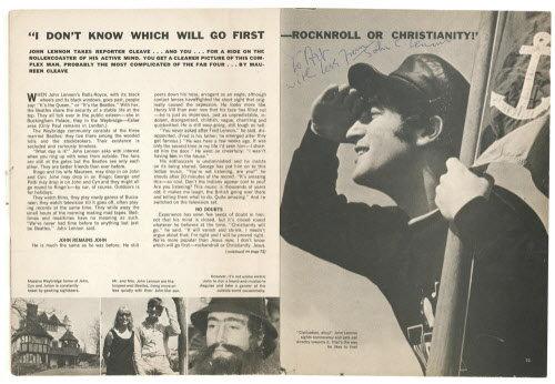 John Lennon Opines
