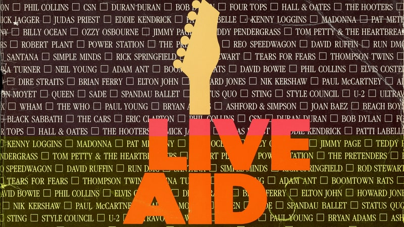 Do They Know We Are Live Aid