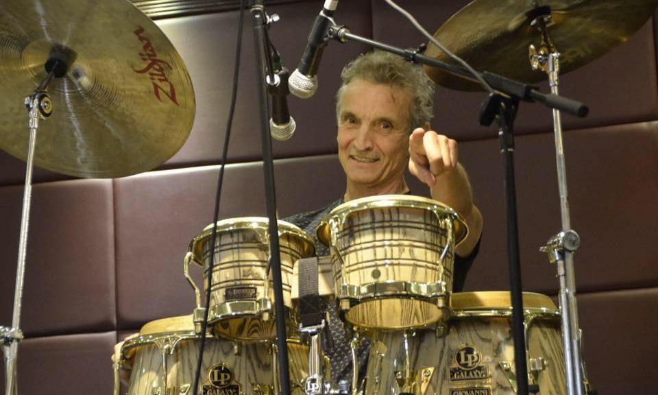 Percussionist Gerardo Jerry Velez
