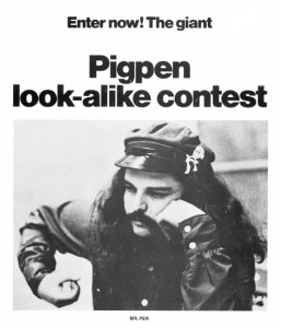 Grateful Dead Ron Pigpen McKernan