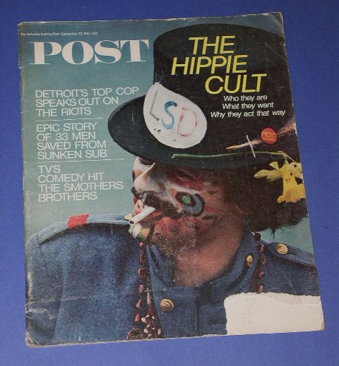 Saturday Evening Post Hippie