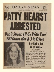 Kidnapped Patty Hearst Captured