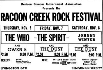 Raccoon Creek Rock Festival