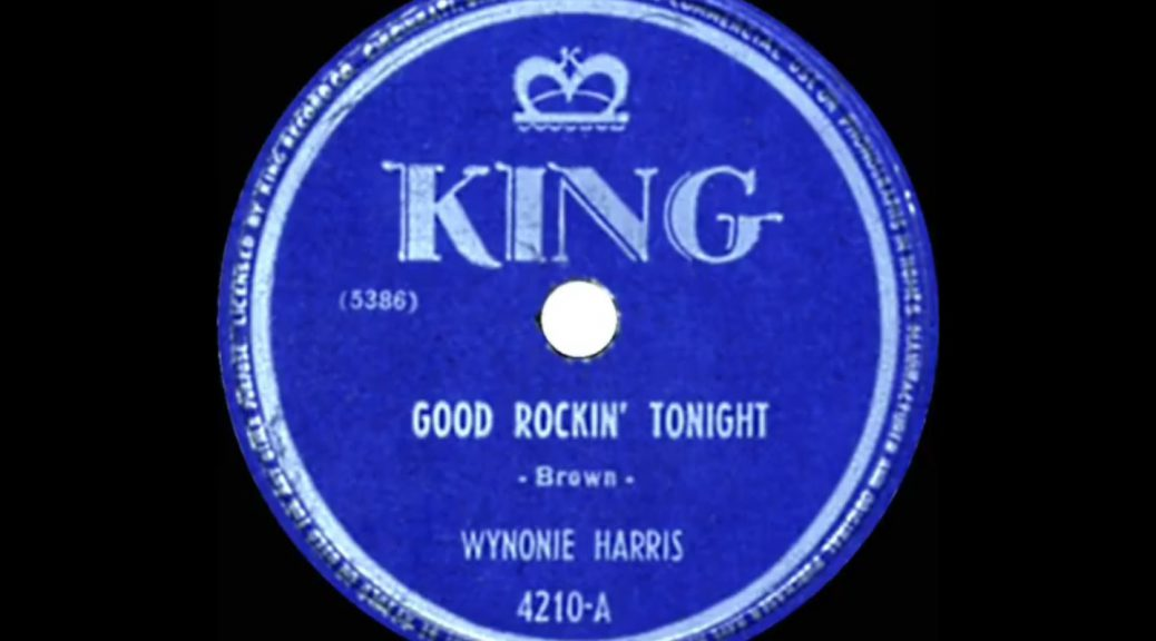 Wynonie Harris Good Rockin Tonight
