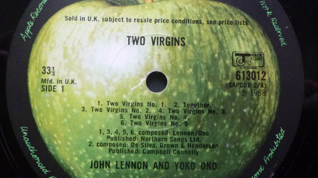 John Yoko Two Virgins