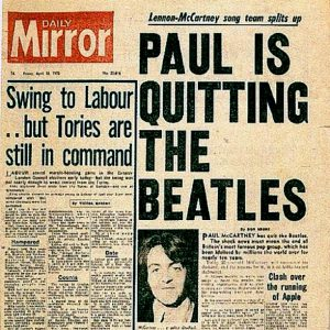 Beatles Officially Legally End