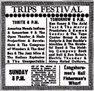 1966 San Francisco Trips Festival