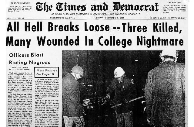 Cleveland Sellers 1968 Orangeburg Massacre
