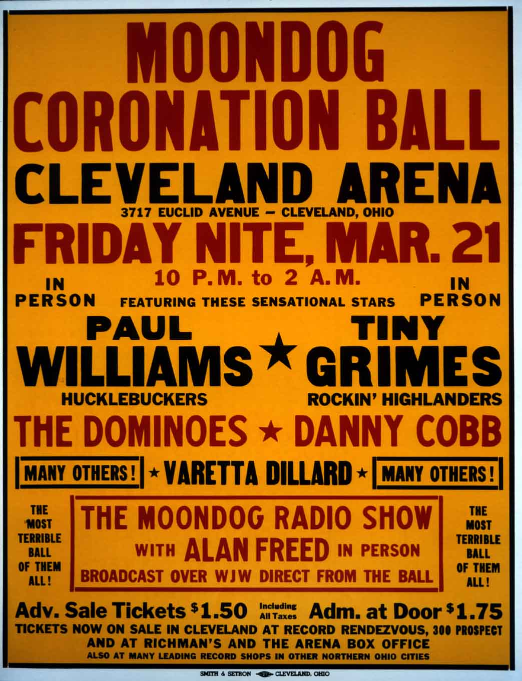 Alan Freed Moondog Coronation Ball