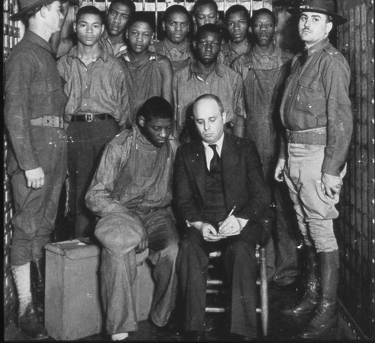 Scottsboro Boys Travesty