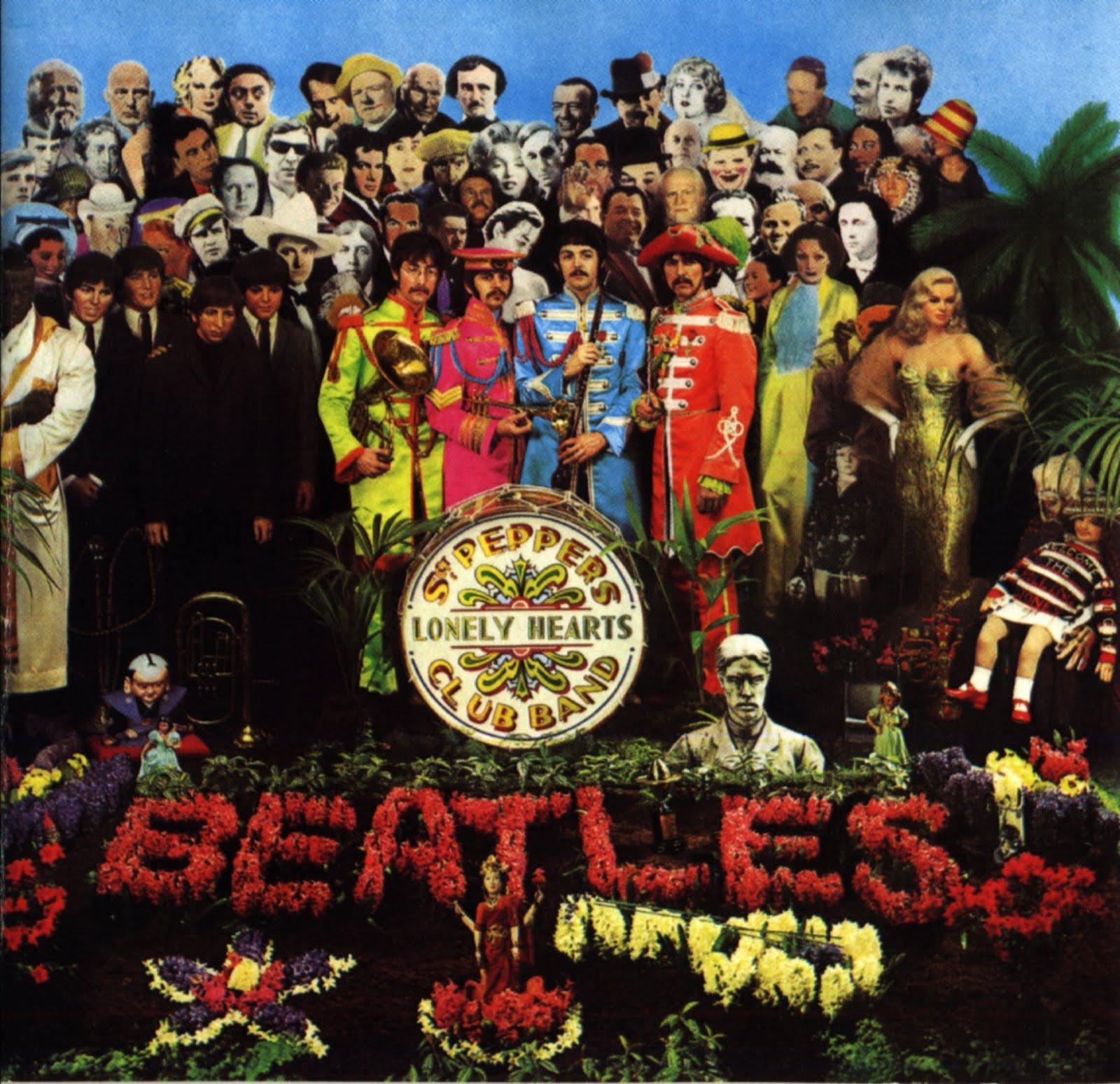 Sgt Pepper Cover Photo Shoot