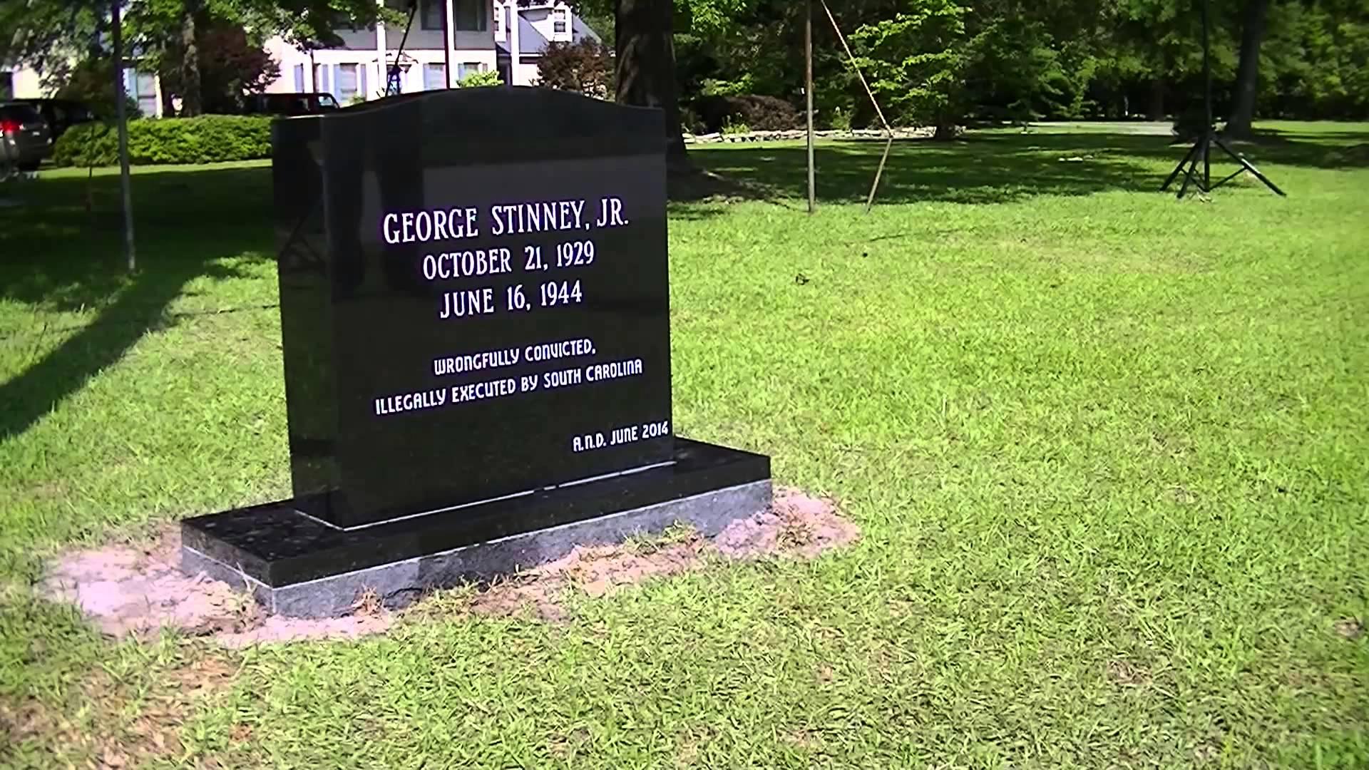 South Carolina Electrocutes George Stinney Jr