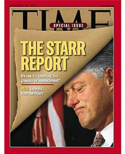 President Bill Clinton Impeachment