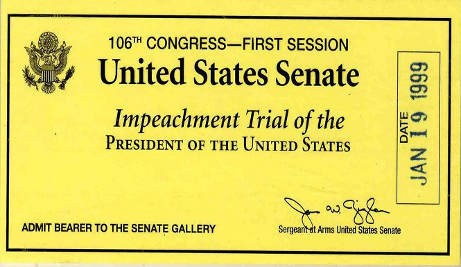 President Bill Clinton Impeachment