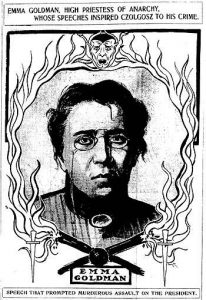 Anarchist Activist Emma Goldman,